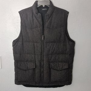 CLAIBORNE WOOL BLEND WINTER VEST